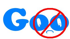 Bad Google! Bad, bad, bad, naughty google.